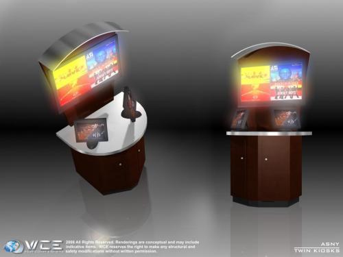 Twin Kiosk 1D